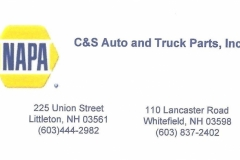 NAPA Auto_Business Card