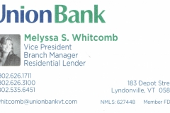 Union Bank_Business Card
