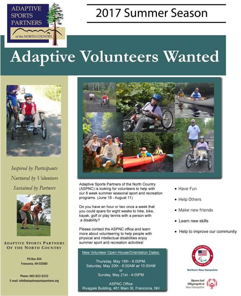 Summer Volunteers Wanted