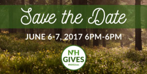 Save the Date - June 6 - 7, NH Gives