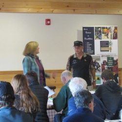 Volunteer Orientation at Copper Cannon Camp