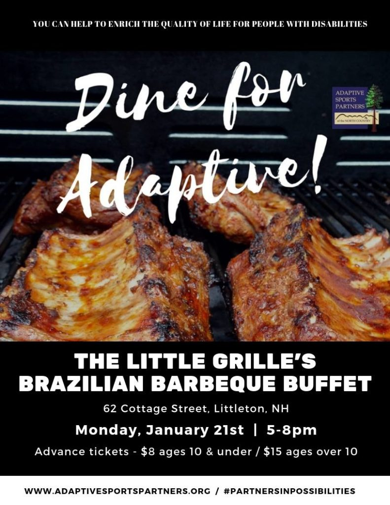 Dine for Adaptive 1/21