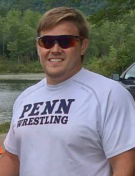 Photo of Thomas before a kayaking session
