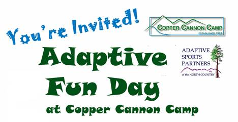 Adaptive Fun Day at Copper Cannon Camp