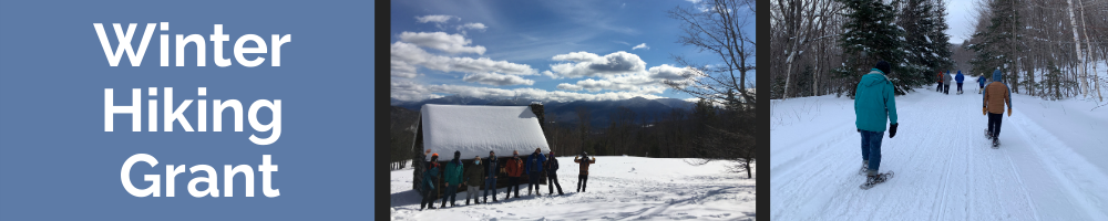 Adaptive Snowshoe Program Expands Thanks to the Tillotson Fund