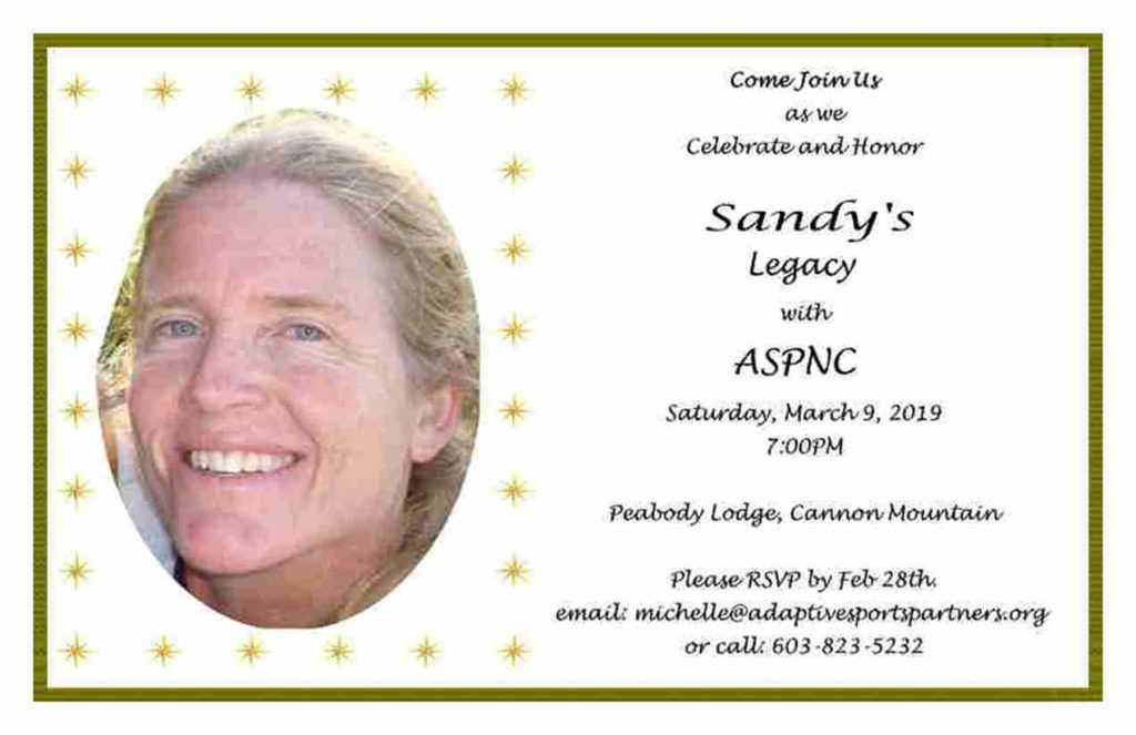 Celebrate and Honor Sandy's Legacy